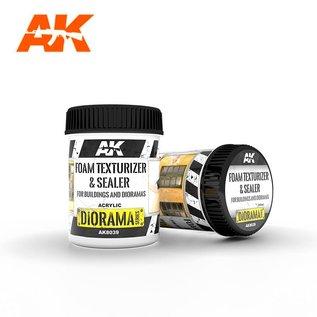 AK Interactive Foam Paste / Styrodur-Versiegelung / Acryl-Spachtelmasse f. Gebäude und Dioramen