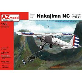 "AZ Model AZ Model - Nakajima NC Type 91 ""Kwangsi AF"" - 1:72"