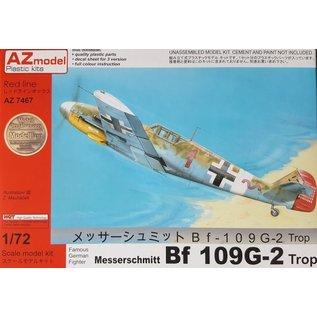 AZ Model Messerschmitt Bf109G-2 Trop - 1:72