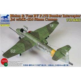 Bronco Models Bronco Models - Blohm & Voss BV P.178 Bomber Interceptor Jet w/MK-214 50mm Cannon - 1:72