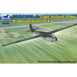 Bronco Models Bronco Models - DFS230V-6 Lastensegler m. Bremsrakete / Light Assault Glider w/deceleration rocket - 1:72