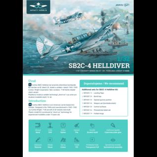 Infinity Models Curtiss SB2C-4 Helldiver - 1:32