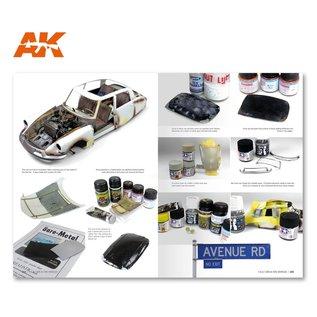 AK Interactive F.A.Q. Civil Vehicles Scale Modeling