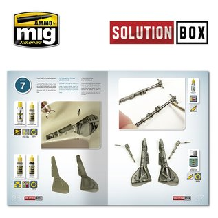 AMMO How to paint WWII Luftwaffe Late Fighters - Solution Book (Multilingual)