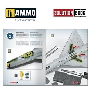 AMMO How To Paint Bare Metal Aircraft Solution Book (Multilingual)