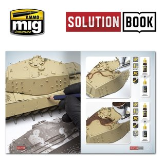 AMMO HOW TO PAINT WWII GERMAN LATE (Multilingual)