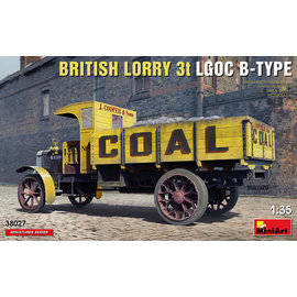 MiniArt MiniArt - Britischer LKW 3T LGOC B-TYPE - 1:35
