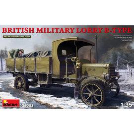 MiniArt MiniArt - Britische Militär LKW B-TYPE - 1:35