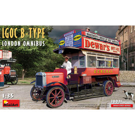MiniArt MiniArt - LGOC B-TYPE London Omnibus - 1:35