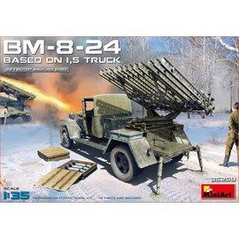 MiniArt MiniArt - BM-8-24 Based on 1,5T Truck - 1:35