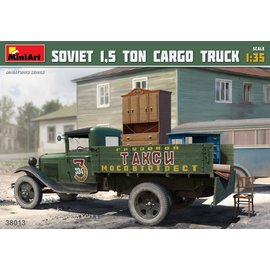 MiniArt MiniArt - Sowjetischer 1,5 Tonnen Lastwagen- 1:35