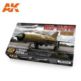 """AK Interactive AK Interactive - MiG-21 PFM - Special Edition """"Days of Glory and Oblivion"""" - 1:48"""