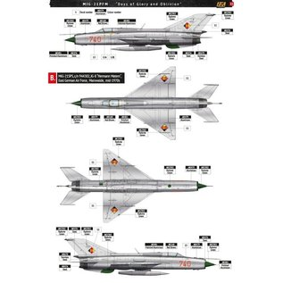 """AK Interactive MiG-21 PFM - Special Edition """"Days of Glory and Oblivion"""" - 1:48"""