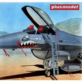 Plusmodel Plusmodel - Ladder / Einstiegsleiter F-16A/C Fighting Falcon - 1:48