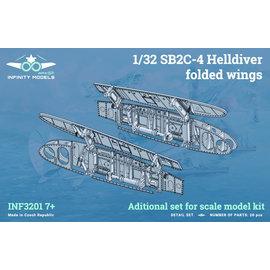 Infinity Models Infinity Models - Zurüst-Set Flügelfaltmechanismus SB2C-4 Helldiver - 1:32