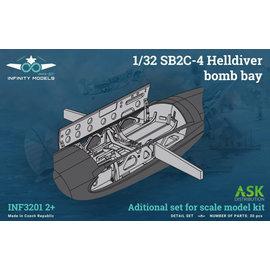 Infinity Models Infinity Models - Zurüst-Set Bombenschacht SB2C-4 Helldiver - 1:32