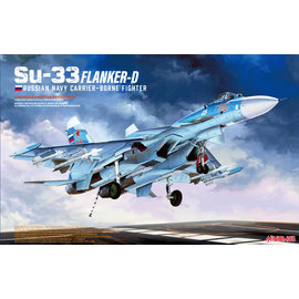 """Minibase Minibase - Sukhoi Su-33 """"Flanker D"""" - Russian Navy Carrier-bourne Fighter - 1:48"""