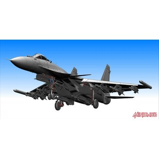 "Minibase Sukhoi Su-33 ""Flanker D"" - Russian Navy Carrier-bourne Fighter - 1:48"