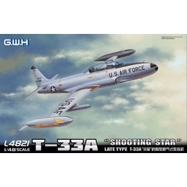 Great Wall Hobby  G.W.H. - Lockheed T-33A Shooting Star (Late Version) - 1:48
