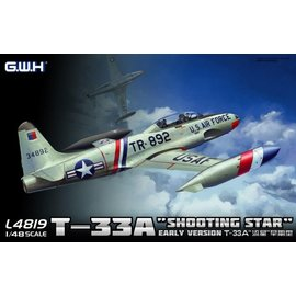 Great Wall Hobby  G.W.H. - Lockheed T-33A Shooting Star (Early Version) - 1:48