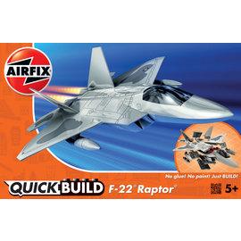 Airfix Airfix - Quick Build - F-22 Raptor