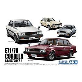 Aoshima Aoshima - Toyota E71/70 Corolla GT/DX '79/'81 - 1:24