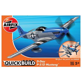 Airfix Airfix - Quick Build - D-Day P-51D Mustang