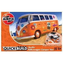Airfix Airfix - Quick Build - 'Surfin' Volkswagen Camper Van