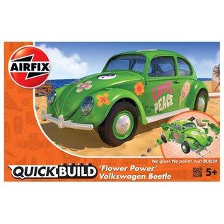 Airfix Quick Build - 'Flower Power' Volkswagen Beetle