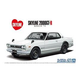 Aoshima Aoshima - Nissan KPGC110 Skyline HT2000 GT-R '71 - 1:24