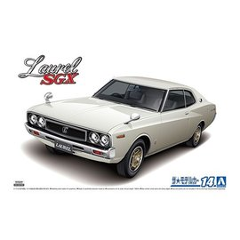 Aoshima Aoshima - Nissan KHC130 Laurel HT 2000SGX '72 - 1:24