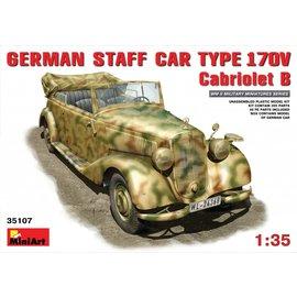 MiniArt MiniArt - Deutscher Stabswagen Typ 170V.Cabrio B - 1:35