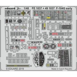 Eduard Eduard - PE-Set Interieur F-104G Starfighter (early) f. Kinetic - 1:48