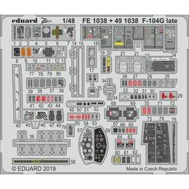 Eduard Eduard - PE-Set Interieur F-104G Starfighter (late) f. Kinetic - 1:48