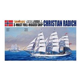 Aoshima Aoshima - Christian Radich - 3-Mast Full-Rigged Ship - 1:350