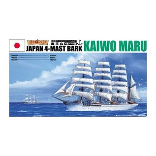 Aoshima Kaiwo Maru - 4-Mast Bark - 1:350