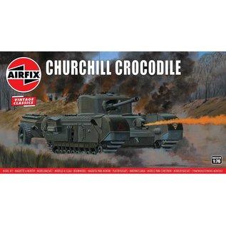 Airfix Churchill Crocodile - Vintage Classic - 1:76