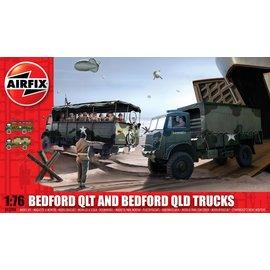 Airfix Airfix - Bedford QLD/QLT Trucks - 1:76