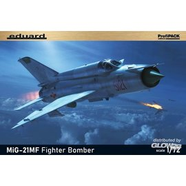 Eduard Eduard - MiG-21 MF Fighter Bomber - Profipack - 1:72