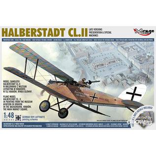 Mirage Hobby Halberstadt Cl.II Late - 1:48