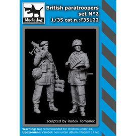 Black Dog Black Dog - British Paratroopers Set No.2 (2 fig.) - 1:35