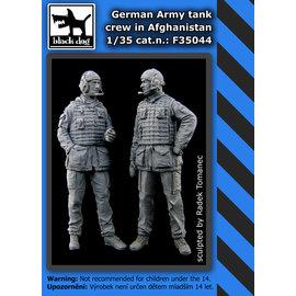 Black Dog Black Dog - German army tank crew in Afghanistan (2 fig.) - 1:35