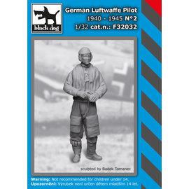 Black Dog Black Dog - German Luftwaffe pilot 1940-45 No.2 (1 fig.) - 1:32