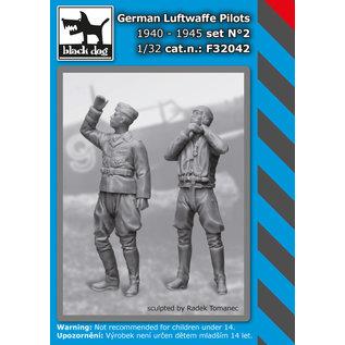 Black Dog German Luftwaffe pilots 1940-45 No.2 (2 fig.) - 1:32