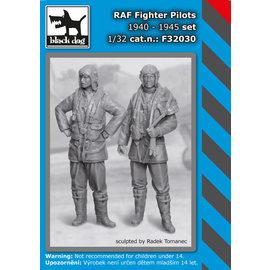 Black Dog Black Dog - RAF Fighter pilots 1940-45 set (2 fig.) - 1:32