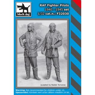 Black Dog RAF Fighter pilots 1940-45 set (2 fig.) - 1:32