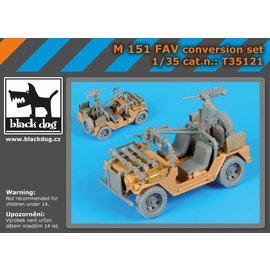 Black Dog Black Dog - M-151 FAV conversion set - 1:35