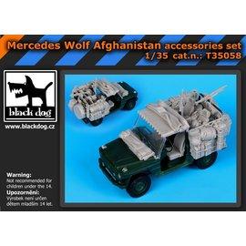 Black Dog Black Dog - Mercedes Wolf Afganistan accessories set - 1:35