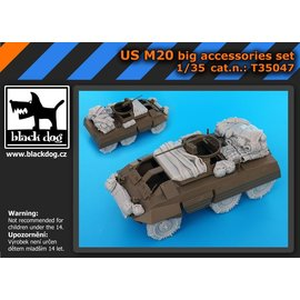 Black Dog Black Dog - US M20 big accessories set - 1:35