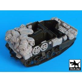Black Dog Black Dog - Bren carrier accesories set - 1:35